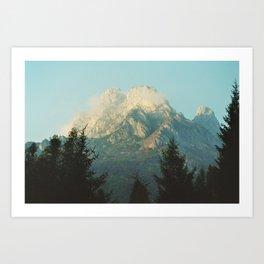 Dolomiti Art Print