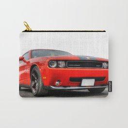 Red Dodge Challenger Carry-All Pouch