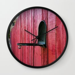 Waiting for Mail Wall Clock
