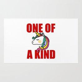 one of a kind unicorn Rug
