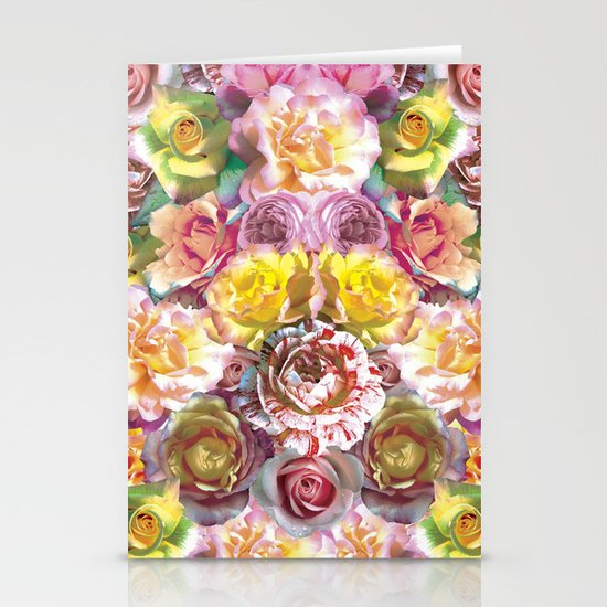 Rose Bloom Stationery Cards