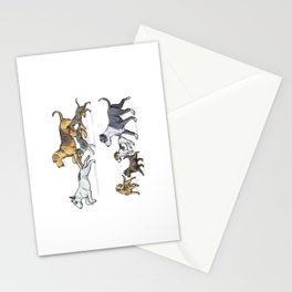 Trotting Terriers Stationery Cards