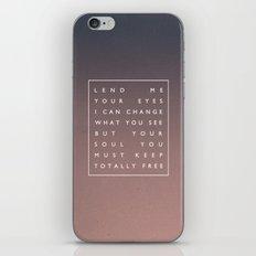 Awake My Soul III iPhone & iPod Skin