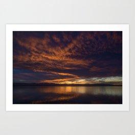 Nelson Sunset Art Print