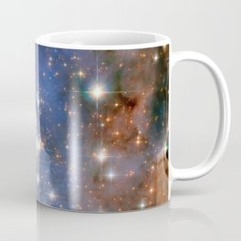 Star cluster Trumpler 14 in the Milky Way (NASA/ESA Hubble Space Telescope) Coffee Mug
