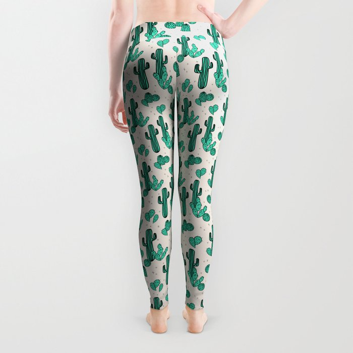 Cactus by Andrea Lauren Leggings