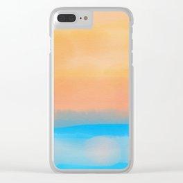 Beachscape 1 Clear iPhone Case
