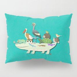 Crocodile Pillow Sham