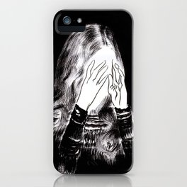 Sarah iPhone Case