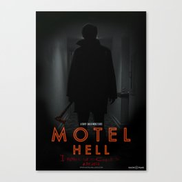Motel Hell 2012 Hallway 2 Canvas Print