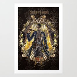 Clockwork Watch: Breakaway Art Print