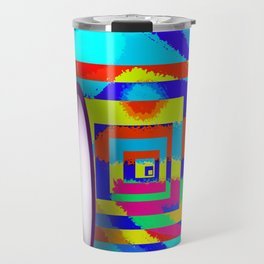 Paradise for May in May - shoes stories Travel Mug
