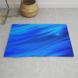 blue wind Rug