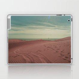 Pink dunes of Maspalomas Laptop & iPad Skin