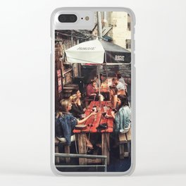 Outdoor Brunch Clear iPhone Case