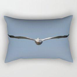 goodbye white pelican Rectangular Pillow