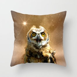 King of space Throw Pillow