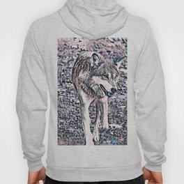 NewArt Animal B Wolf Hoody