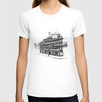 victorian T-shirts featuring Victorian Building by CRNS