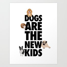 Dog Owners  Art Print