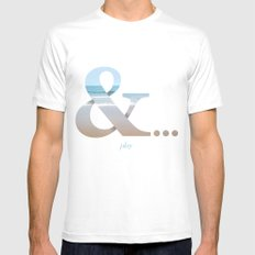 And... Play Mens Fitted Tee White SMALL