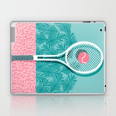 Good to go - memphis throwback 1980s neon pastel abstract sports tennis racquetball athlete game  Laptop & iPad Skin