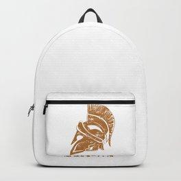 Spartan Warrior Helmet Ancient Rome Galea  Backpack
