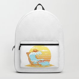 WAVE ON THE BEACH Backpack