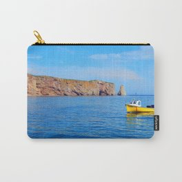 The Rock and the Yellow Boat Carry-All Pouch