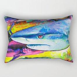 Shark Colors Rectangular Pillow