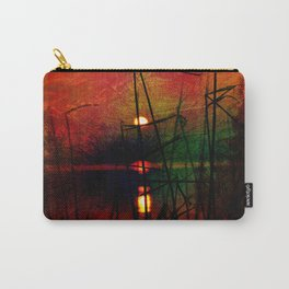 tramonto astratto Carry-All Pouch