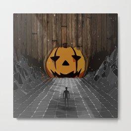 Jack o'lantern limbo Metal Print