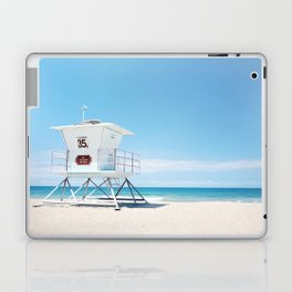 Lifeguard tower Carlsbad 35 Laptop & iPad Skin