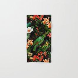 Vintage & Shabby Chic - Midnight Tropical Garden Hand & Bath Towel