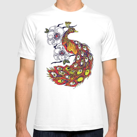 My peacock T-shirt