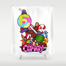 I Want Candy Shower Curtain