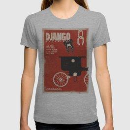 Django Unchained, Quentin Tarantino, alternative movie poster, Leonardo DiCaprio, Jamie Foxx T-shirt