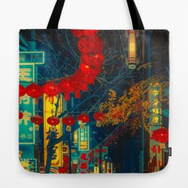 When the Sun goes Down/ Anthony Presley Photo Print Tote Bag