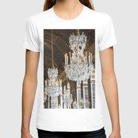 chandelier T-shirts featuring Versailles Chandelier by Scott Board