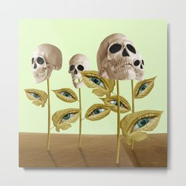 Decadence Growth Metal Print