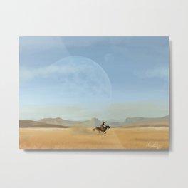 See you Space Cowboy Metal Print
