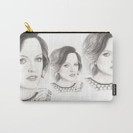 elisabeth moss...  peggy olson & more. Carry-All Pouch
