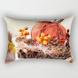 Autumn is coming Rectangular Pillow
