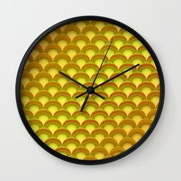 Lifesaver Pattern Wall Clock