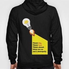 Lab No. 4 - Think Big Dhirubhai Ambani Reliance Corporate Startup Quotes Poster Hoody