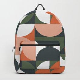 Mid Century Geometric 16 Backpack