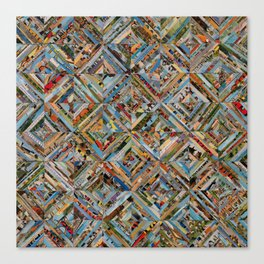 Texas Kaleidoscope Canvas Print