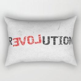 A Simple Message Rectangular Pillow
