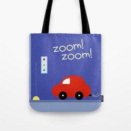 Zoom Zoom Car Tote Bag
