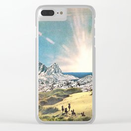 In A Beautiful Place Out In The County Clear iPhone Case